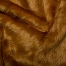 Honey Fun Fur Fabric